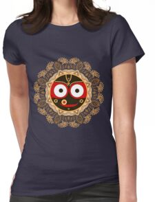 Jagannath. Indian God of the Universe. Lord Jagannatha. Womens Fitted T-Shirt