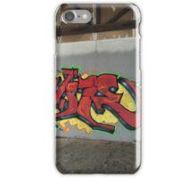 Selfie Red Graffiti in Funky Town iPhone Case/Skin