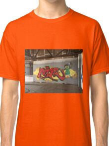 Selfie Red Graffiti in Funky Town Classic T-Shirt