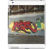 Selfie Red Graffiti in Funky Town iPad Case/Skin