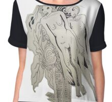 Let's Decompose Together Chiffon Top