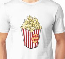 Cartoon Popcorn Bag Unisex T-Shirt