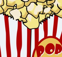 Cartoon Popcorn Bag Sticker