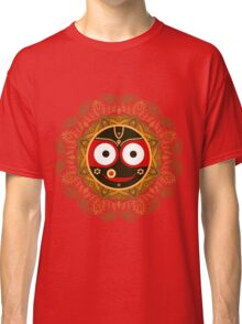 Jagannath. Indian God of the Universe. Lord Jagannatha. Classic T-Shirt