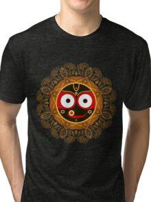 Jagannath. Indian God of the Universe. Lord Jagannatha. Tri-blend T-Shirt