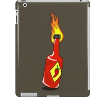 Cartoon Hot Sauce iPad Case/Skin