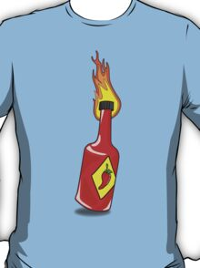 Cartoon Hot Sauce T-Shirt