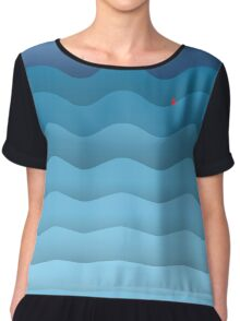 BREAKING THE WAVES Chiffon Top