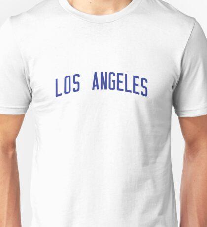 Reg Mackworthy 56 Los Angeles Baseball Shirt Eastbound and Down Unisex T-Shirt