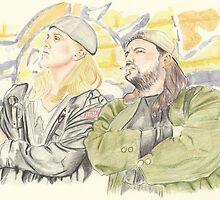 Jay and Silent Bob. by Troglodyte