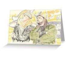 Jay and Silent Bob. Greeting Card