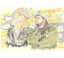 Jay and Silent Bob. Photographic Print