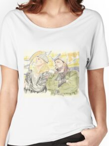 Jay and Silent Bob. Women's Relaxed Fit T-Shirt