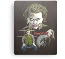 """Why so serious?"" Canvas Print"