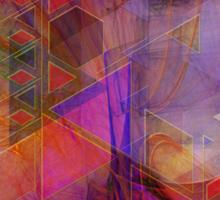 Vibrant Echoes - By John Robert Beck Sticker