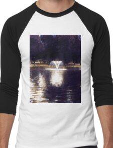 Oil painting. Men's Baseball ¾ T-Shirt