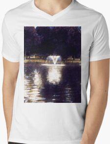 Oil painting. Mens V-Neck T-Shirt