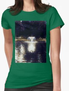 Oil painting. Womens Fitted T-Shirt