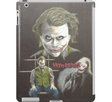 """""""Why so serious?"""" iPad Case/Skin"""