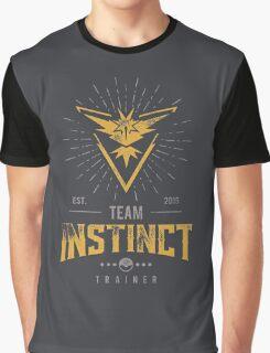Team Instinct Pokemon Go Graphic T-Shirt