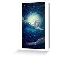 The Moon Greeting Card