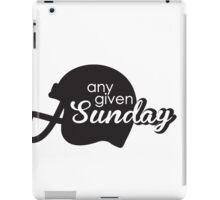 Any given sunday iPad Case/Skin