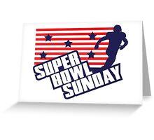 Super Bowl Sunday Greeting Card