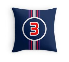 Ricciardo 3 Throw Pillow