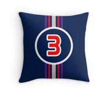 Ricciardo 3 Throw Pillow