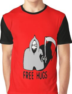 Free Hugs by The Death  (sad halloween version) Graphic T-Shirt