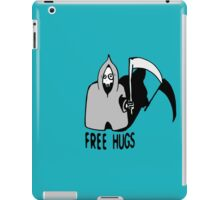Free Hugs by The Death  (sad halloween version) iPad Case/Skin