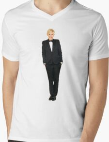 Ellen DeGeneres Mens V-Neck T-Shirt