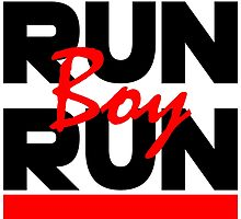 RUN Boy RUN by JustCarter