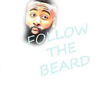 Follow The Beard - Harden - Basketball - Funny by Javirc14