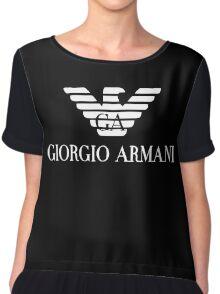 Giorgio Armani Chiffon Top
