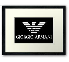 Giorgio Armani Framed Print