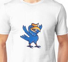 Hornbill Open Arms Full Body Cartoon Unisex T-Shirt