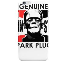 Genuine Monster Spark Plugs iPhone Case/Skin