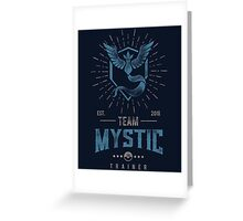 Team Mystic Pokemon Go Greeting Card