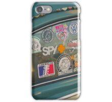 Rear window stickers iPhone Case/Skin