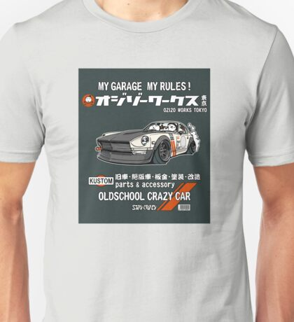 Crazy Car Art 0125 Unisex T-Shirt