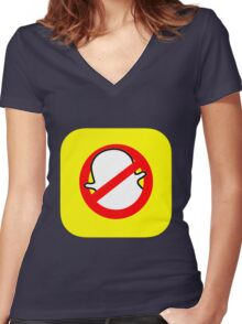 Snapbusters Women's Fitted V-Neck T-Shirt