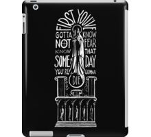 -QUOTES- Fight Club iPad Case/Skin