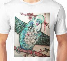 Sugarplum blossom budgie Unisex T-Shirt