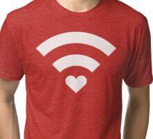 Wireless Love Tri-blend T-Shirt