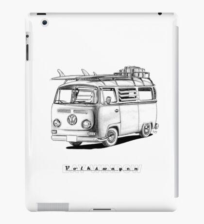 VW Type 2 Bay Window Surfer - 'Signed' iPad Case/Skin