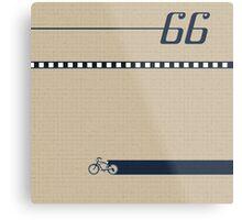 Pedal 66 Metal Print