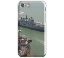 'LUSTY' returns - HMS Illustrious' final return to Portsmouth iPhone Case/Skin