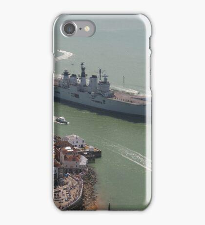 'LUSTY' returns - HMS Illustrious' final return to Portsmouth iPhone Case/Skin
