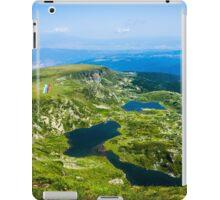 Beautiful Lakes Over The Mountain (The Seven Rila Lakes) iPad Case/Skin